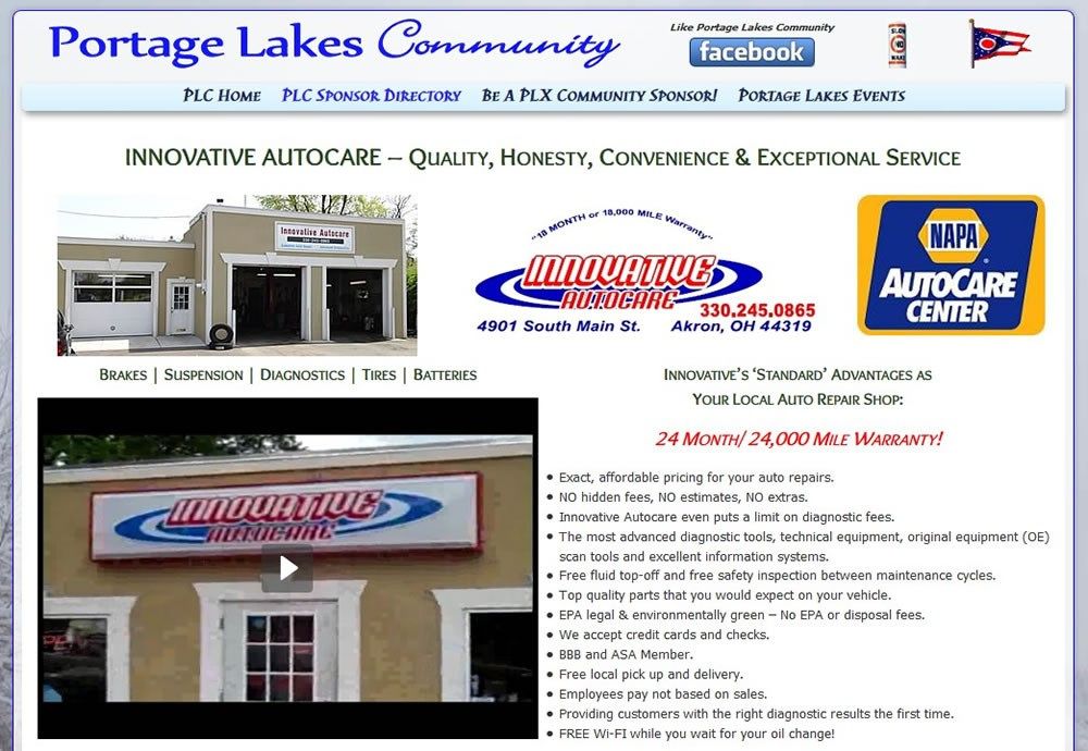 Innovative Autocare - Serving Portage Lakes