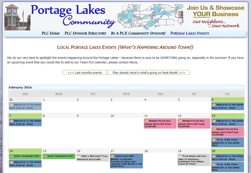 PLX Community Calendar