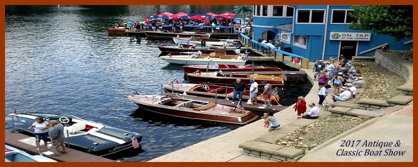 Portage Lakes Antique and Classic Boat Show