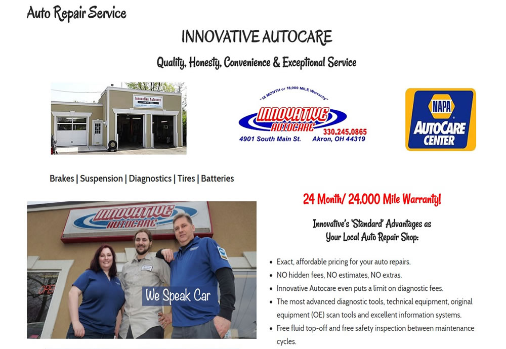 Innovative Auto Care in Akron, OH