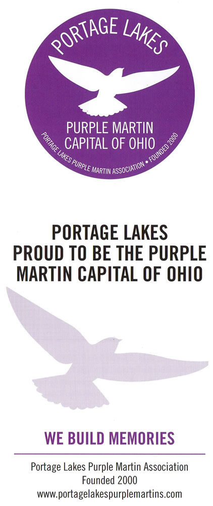The Portage Lakes Purple Martin Association