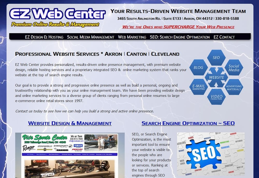 EZ Web Center - Professional Website Services