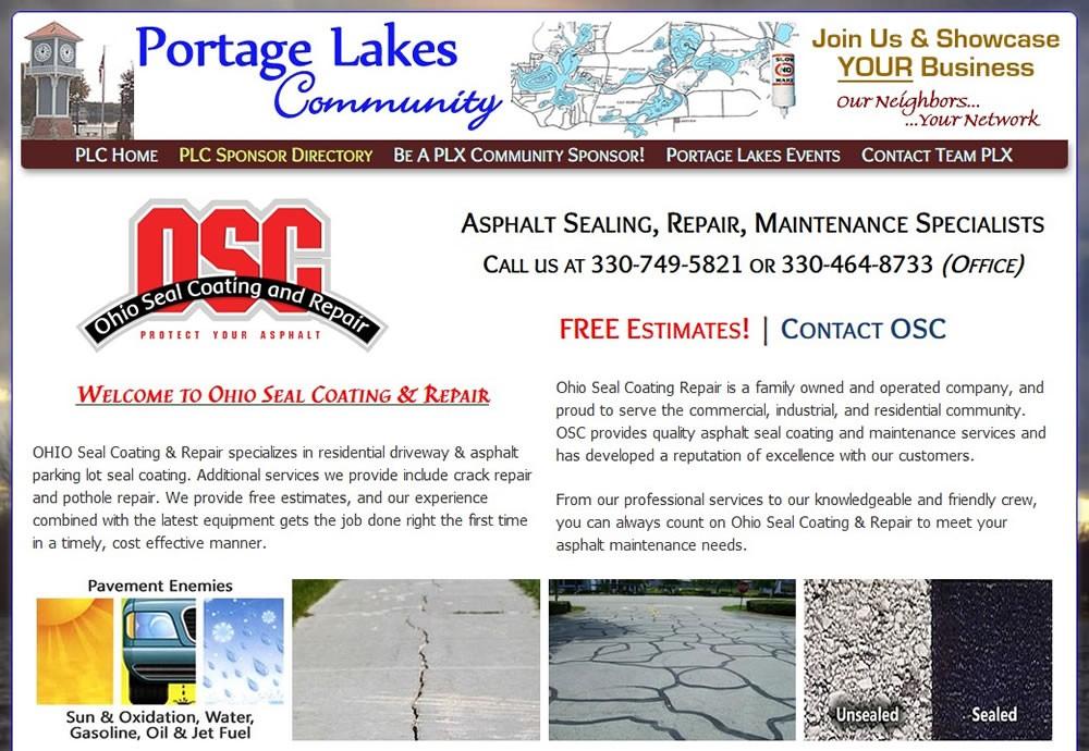 Ohio Seal Coating & Repair - Serving Akron OH