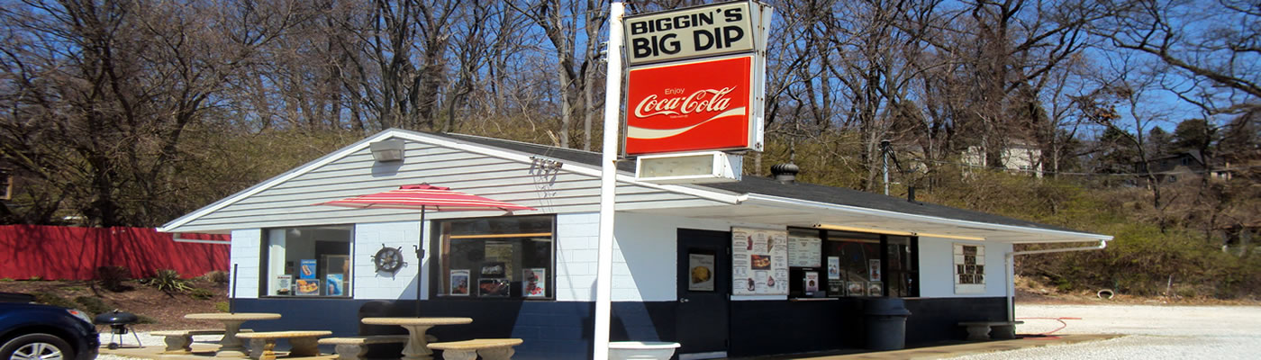 Biggins Big Dip Ice Cream Shoppe