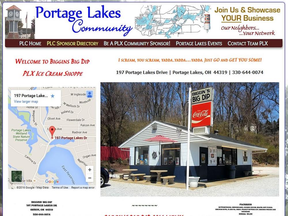 Biggins Big Dip - Portage Lakes Ice Cream Shop