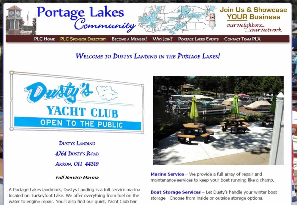 Dustys Landing - Portage Lakes OH