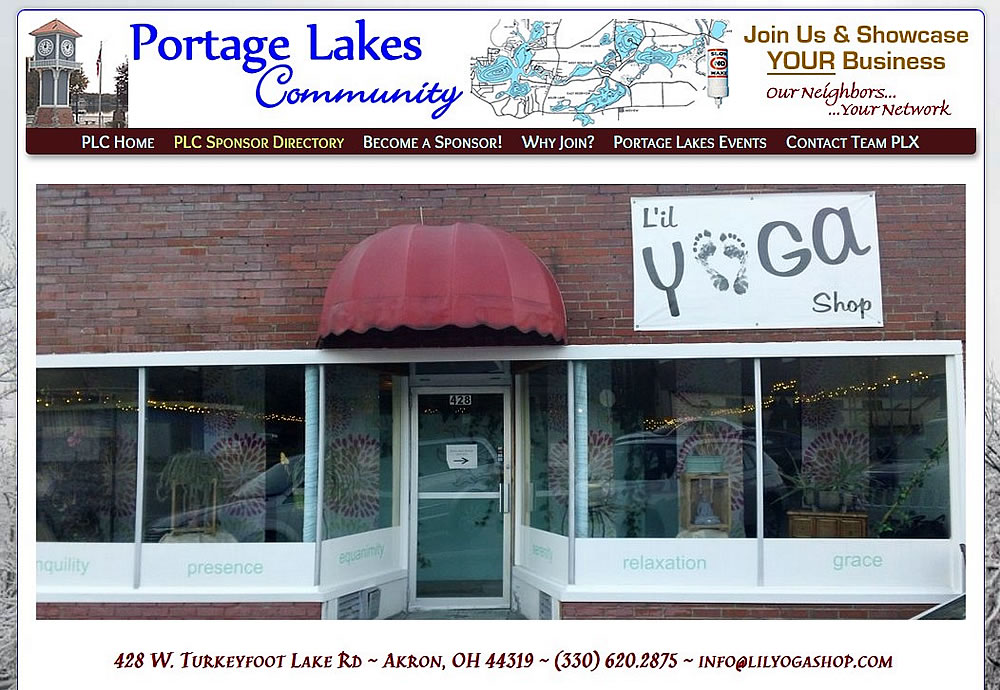 Lil Yoga Shop - Portage Lakes 44319