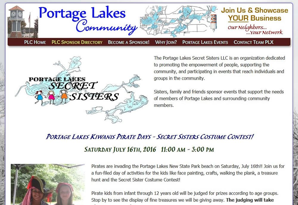 Portage Lakes Secret Sisters