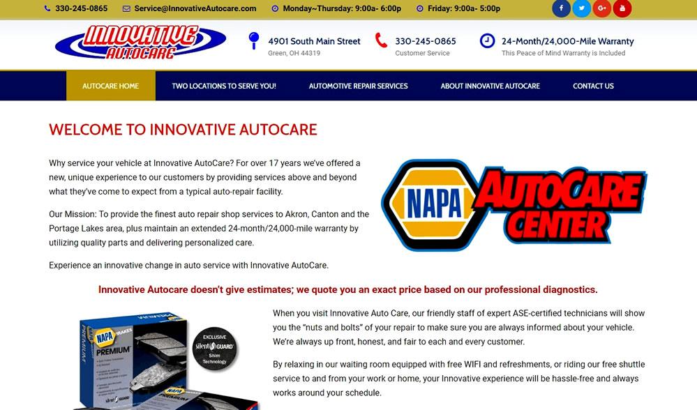 Innovative AutoCare - Nationwide NAPA Warranty