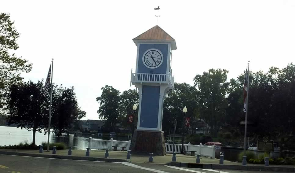 Portage Lakes OH Clocktower