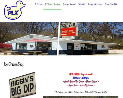 Biggins Big Dip Ice Cream Shop