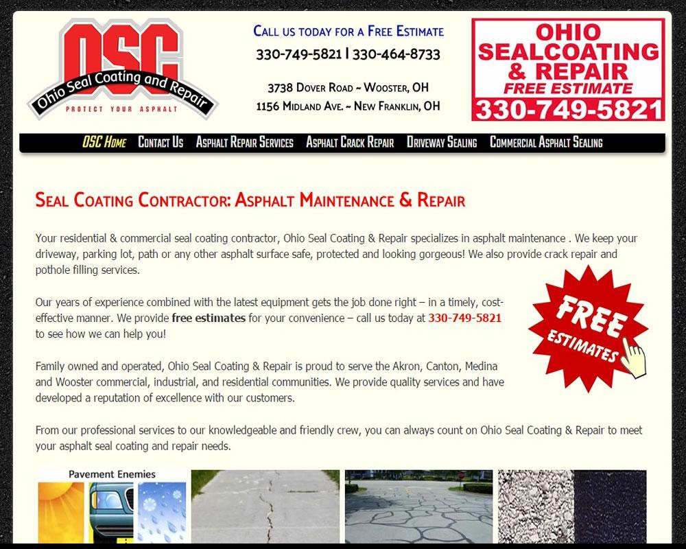 Ohio Seal Coating & Repair