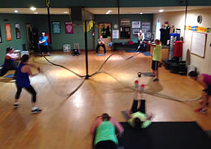 Battle Ropes - PLX Fit Club