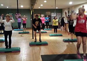 Step Aerobics @ PLX Fit Club