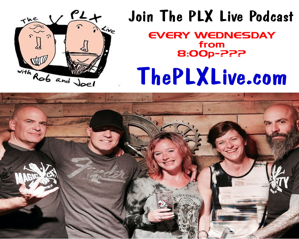 The PLX LIVE Podcast - Every Wednesday 9pm